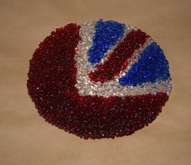 Union Jack Flag Bowl