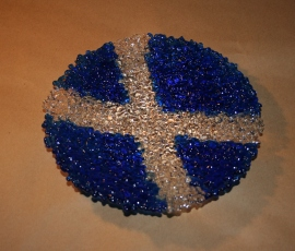 Scottish Saltire Flag Bowl